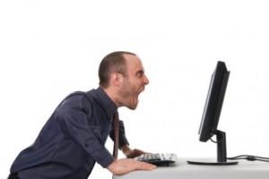 Man-yelling-at-computer