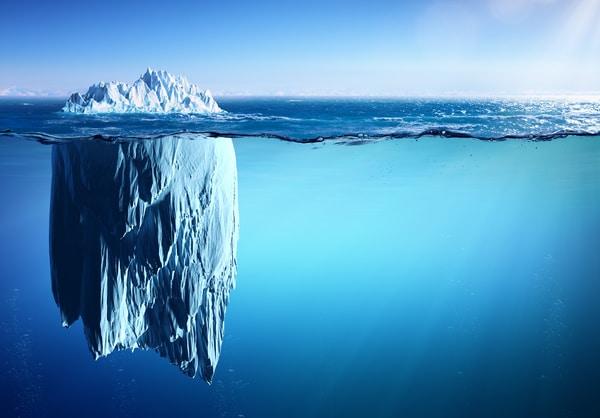 Minimalisme, le partie émergée de l'iceberg
