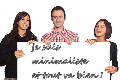 Minimalisme, faire accepter son mode de vie à son entourage