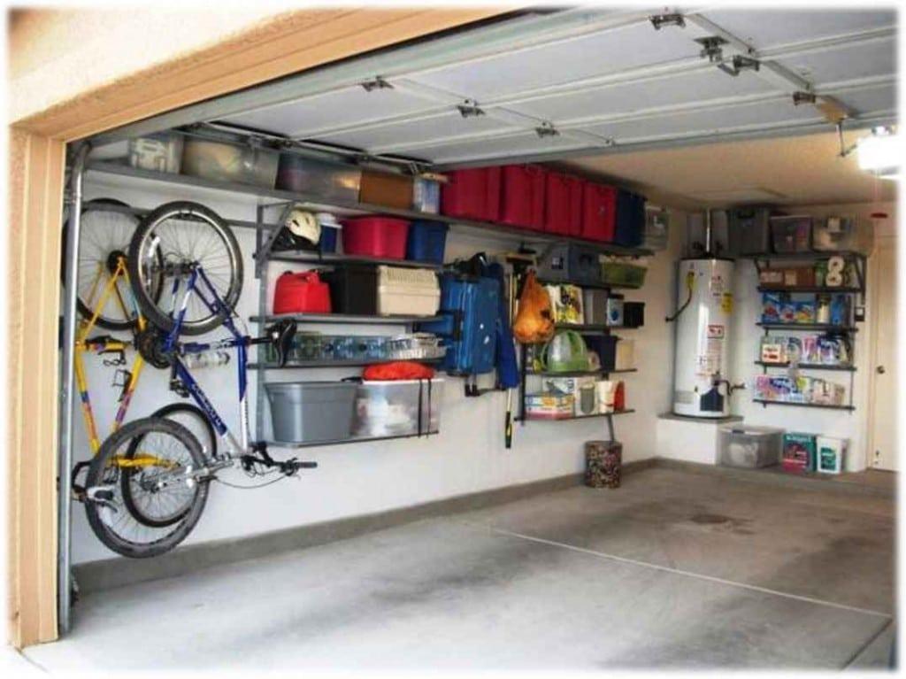désencombrer son garage