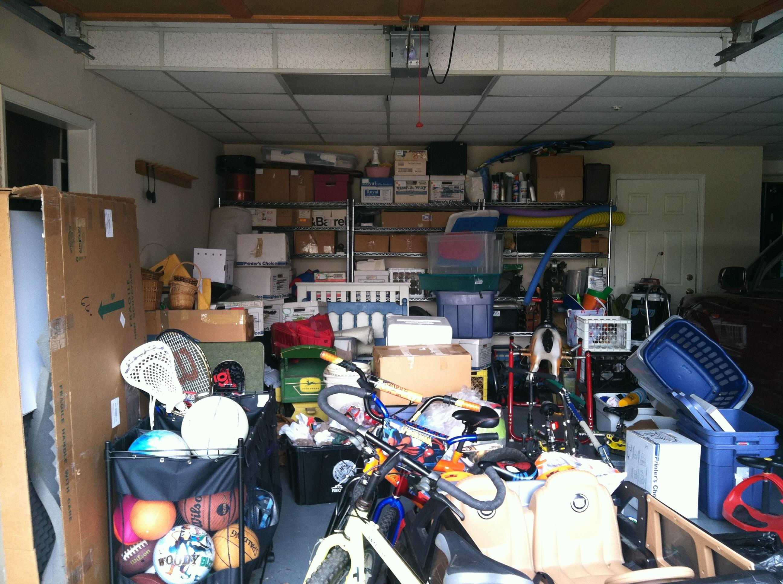 vider son garage