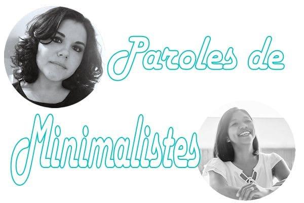 Paroles de blogueuses minimalistes