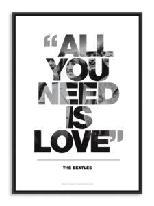 minimalisme et amour